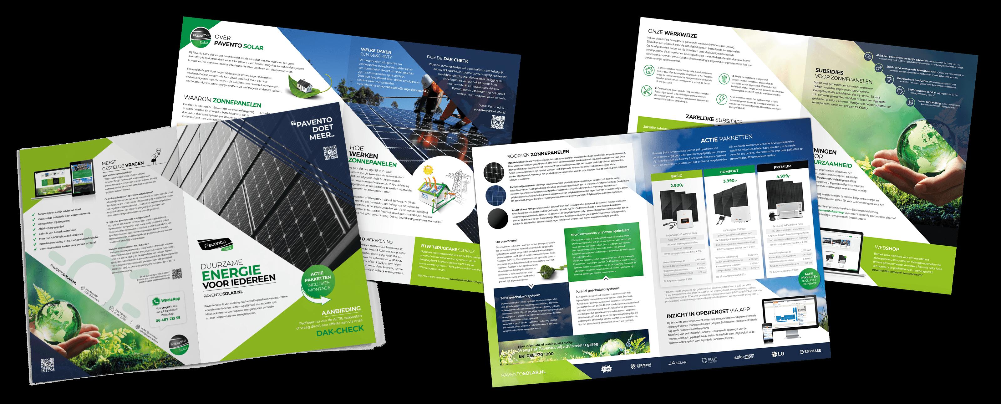 Pavento Solar brochure 8-zijdig 2020